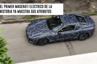 El primer Maserati eléctrico de la historia ya muestra sus atributos