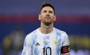 Messi, el hombre récord de Argentina