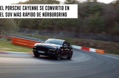 El Porsche Cayenne se convirtió en el SUV más rápido de Nürburgring