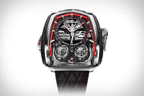 Jacob & Co fabricó un reloj en homenaje a la saga Rápido y Furioso que vale 580.000 dólares