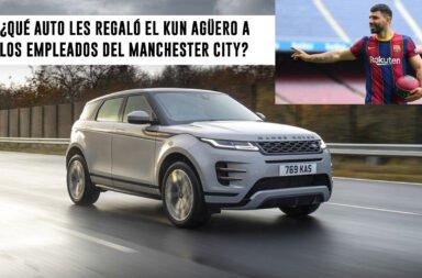 ¿Qué auto le regaló el Kun Agüero a los empleados del Machester City?