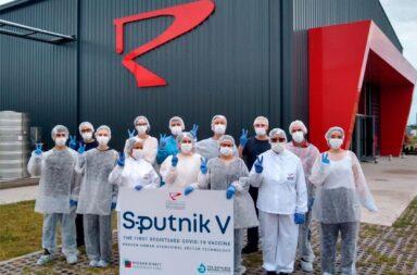 Richmond concluyó la producción en Argentina de sus primeras 450.000 dosis de la vacuna Sputnik V