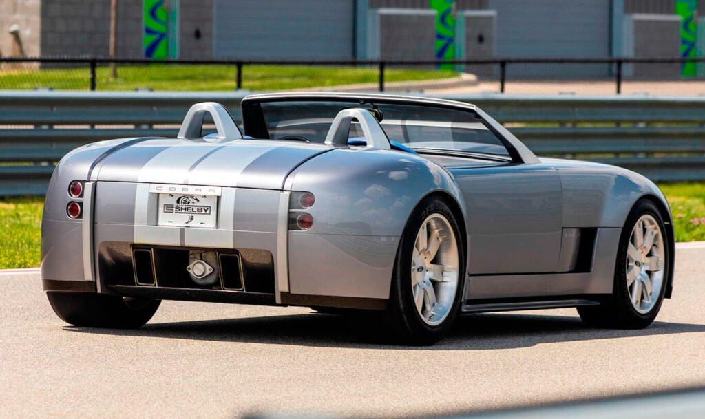 Se subastó el único Ford Shelby Cobra Concept del mundo a una cifra galáctica