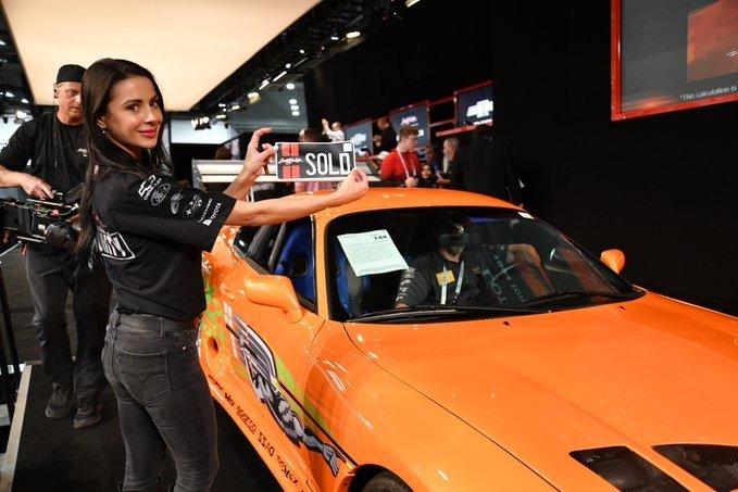 Se subastó por más de 500.000 dólares el Supra de Paul Walker en Rápido y Furioso