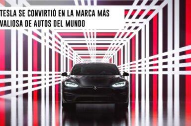 Tesla se convirtió en la marca más valiosa de autos del mundo