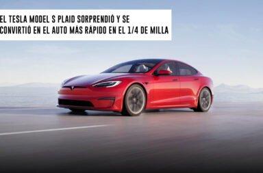 El Tesla Model S Plaid sorprendió y se convirtió en el auto más rápido en el cuarto de milla