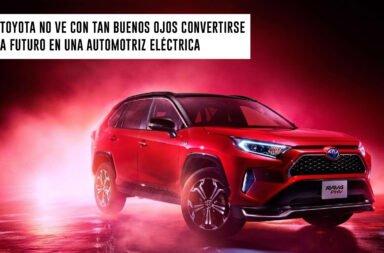 Toyota no ve con tan buenos ojos convertirse a futuro en una automotriz eléctrica