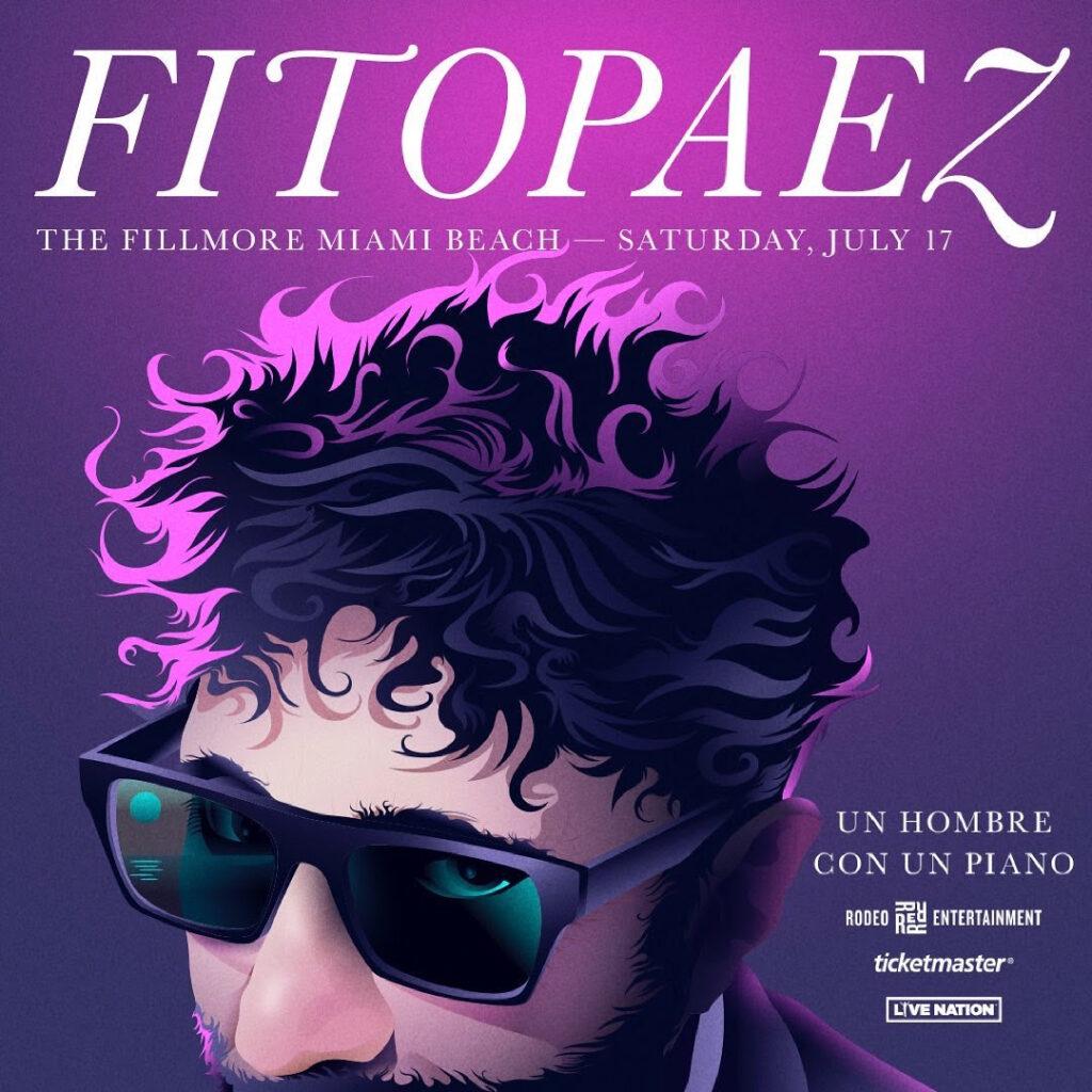 Fito Páez presenta 'Un hombre con un piano' en Miami Beach