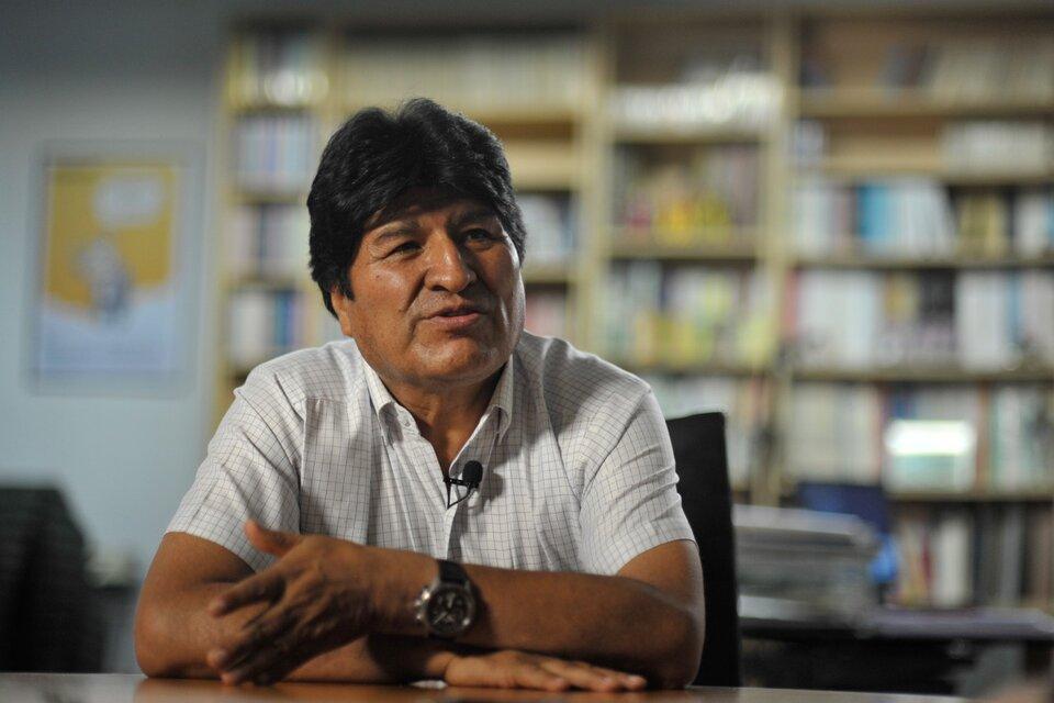 Evo Morales entrevista