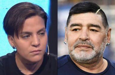 Habló Eugenia Laprovíttola, la supuesta hija de Maradona, sobre su búsqueda de identidad