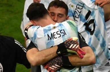 Argentina, a la final de la mano de Martínez