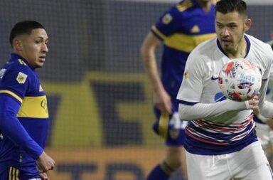 Los pibes de Boca perdieron con San Lorenzo 2 a 0
