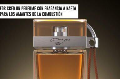 Ford creó un perfume con fragancia a nafta para los amantes de la combustión
