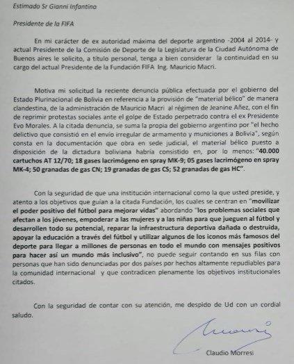 Solicitan que Mauricio Macri sea destituido como presidente de la Fundación FIFA