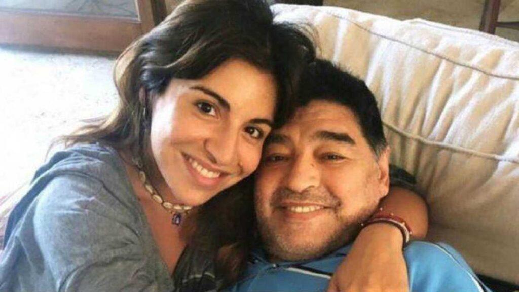Gianinna Maradona y Diego