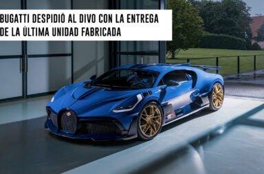 Bugatti despidió al Divo con la entrega de la última unidad fabricada