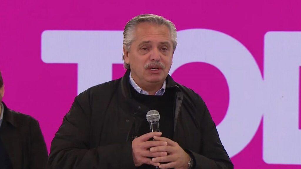 Marcelo Mazzarello contra Alberto Fernández: