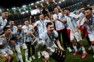 El saludo de Alberto y Cristina a los campeones de la Selección argentina