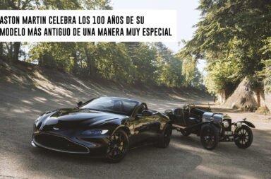 Aston Martin celebra los 100 años de su modelo más antiguo de una manera muy especial