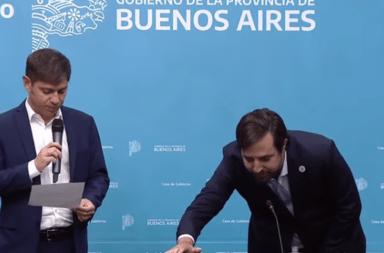 Asumió Kreplak como ministro de Salud de la provincia de Buenos Aires, en reemplazo de Daniel Gollan