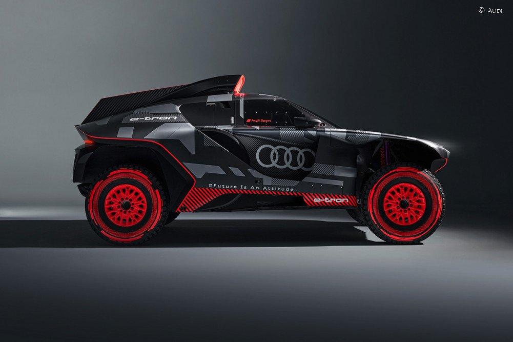 Audi presentó el increíble RS Q e-Tron con el que correrá el Dakar 2022
