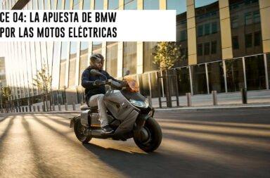 CE 04: La apuesta de BMW por las motos eléctricas