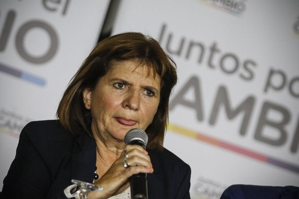 Patricia Bullrich renunció a la candidatura, pero apunta al 2023