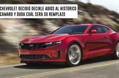 Chevrolet decidió decirle adiós al histórico Camaro y duda cuál será su reemplazo
