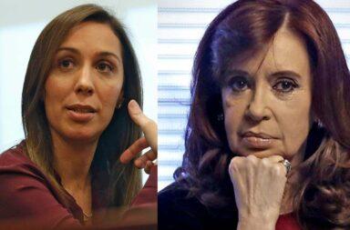 """La respuesta de María Eugenia Vidal a Cristina Kirchner: """"Que es ser rudo? ¿Sacar a patadas en el culo a los narcos de los barrios o putear por televisión?"""