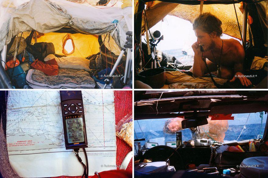 Los 4 aventureros que cruzaron el Atlántico con un Ford Taunus y un Volkswagen Passat