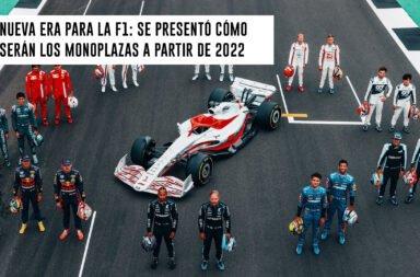 Nueva era para la F1: Se presentó cómo serán los monoplazas a partir de 2022