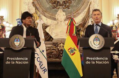Evo Morales Macri