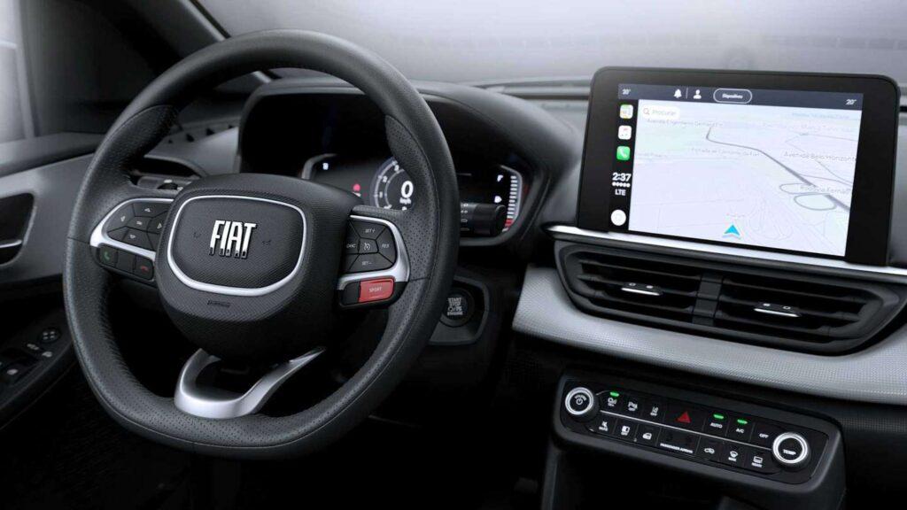 El Fiat Pulse que llegará a Argentina se sigue develando y ahora mostró su interior