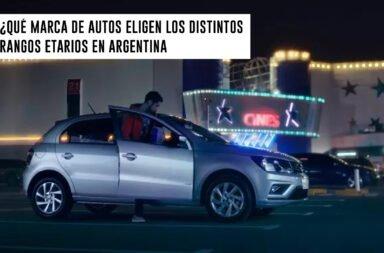 ¿Qué marca de autos eligen los distintos rangos etarios en Argentina?