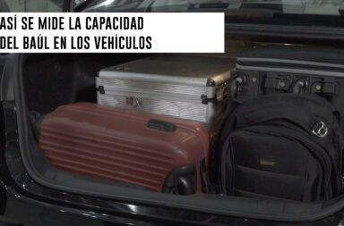 Así se mide la capacidad del baúl de los vehículos