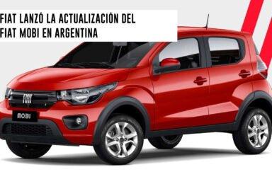Fiat lanzó la actualización del Fiat Mobi en Argentina