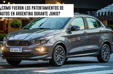 ¿Cómo fueron los patentamientos de autos en Argentina durante junio?