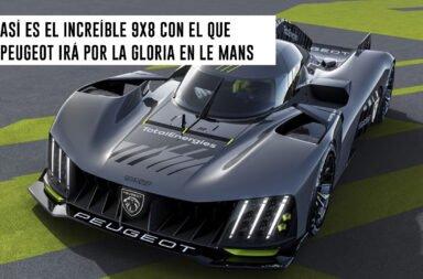 Así es el increíble 9x8 con el que Peugeot irá por la gloria en Le Mans