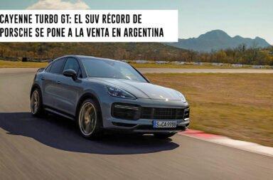 Cayenne Turbo GT: El SUV récord de Porsche se pone a la venta en Argentina