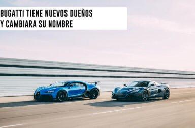 Bugatti tiene nuevos dueños y cambiará su nombre