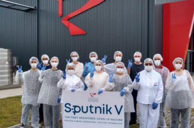 La semana próxima ya podrán ser aplicadas las primeras Sputnik V producidas en el país