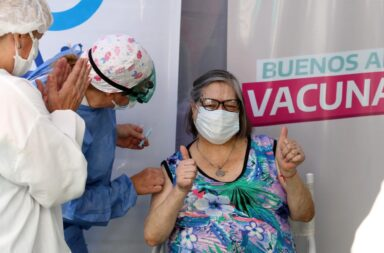 La provincia de Buenos Aires anunció más de 1 millón de turnos para vacunarse en los próximos 9 días
