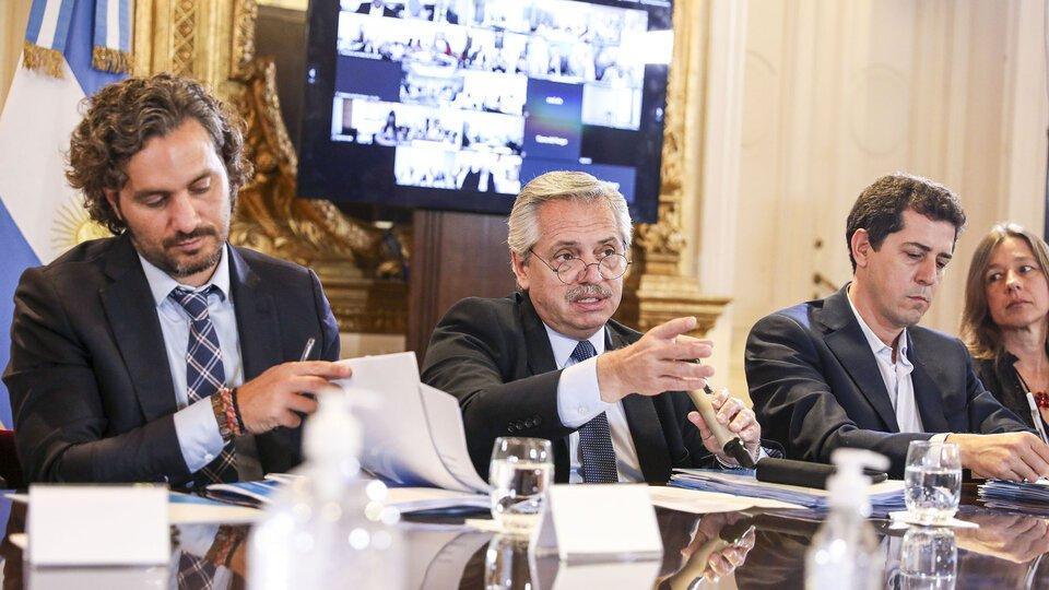 Alberto Fernández llamó a una reunión de Gabinete