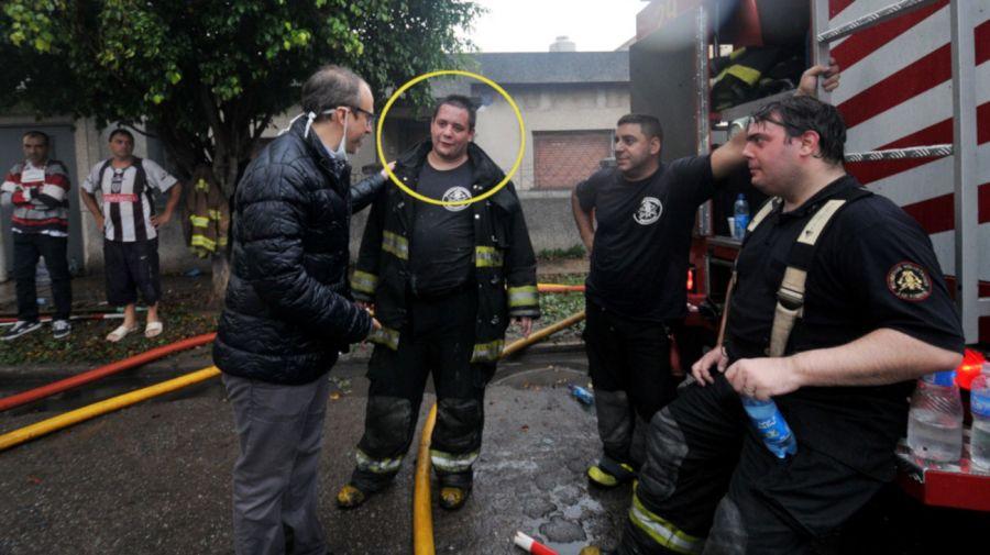 Falleció el tercer bombero que se encontraba grave luego del incendio de Caseros