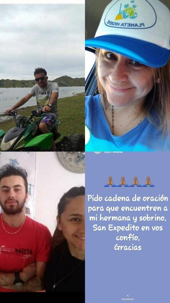 Buscan a cuatro vecinos de Bariloche que desaparecieron cuando iban a repartir juguetes por el Día de la Niñez
