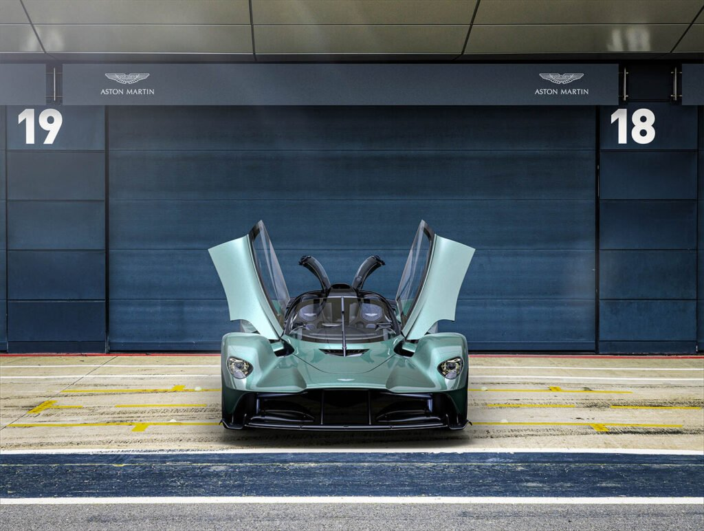 Aston Martin Valkyrie Spider: cada vez más parecido a un Fórmula 1