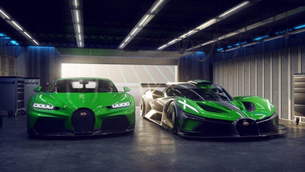 Bugatti confirmó que fabricará el superdeportivo Bólide con 1600 caballos de fuerza
