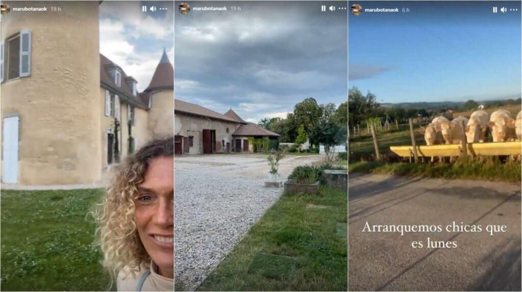 El drama de Maru Botana: quedó varada en un castillo francés