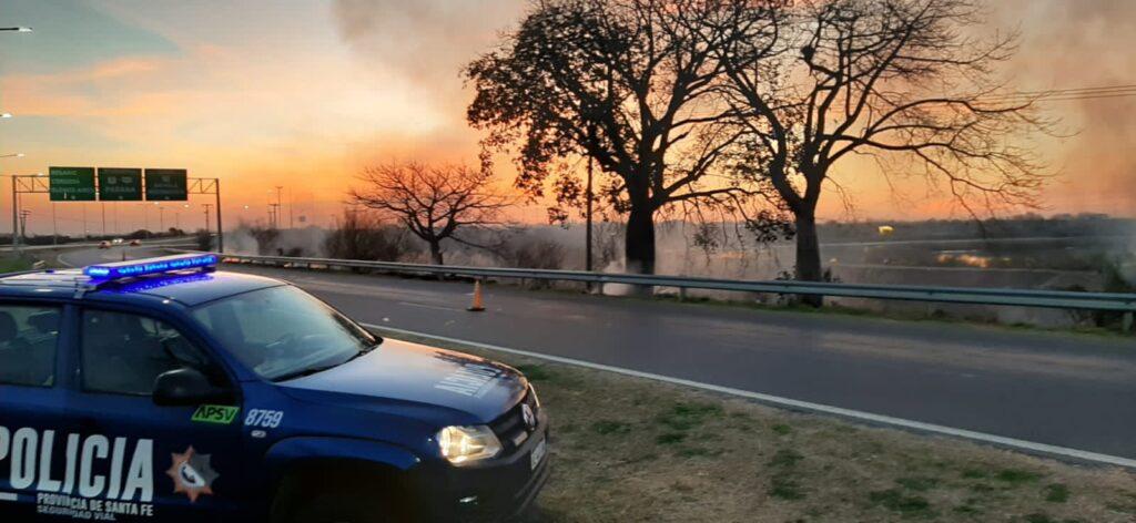 Incendios forestales en Santa Fe, Entre Ríos y Buenos Aires