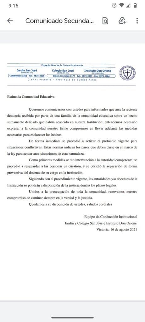 Horror en San Fernando: acusan a un docente por abusar de seis chicos en un jardín de infantes